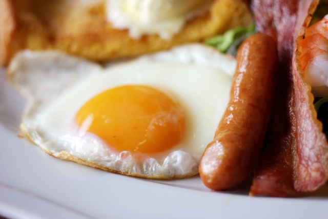 高タンパクな朝食