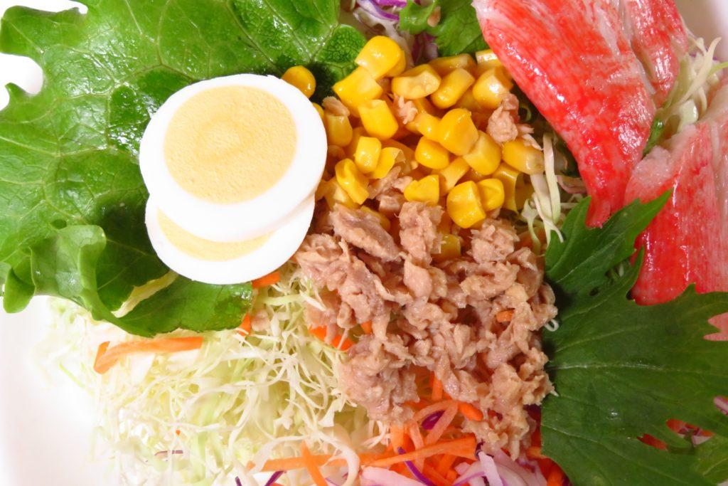 ツナ卵サラダ