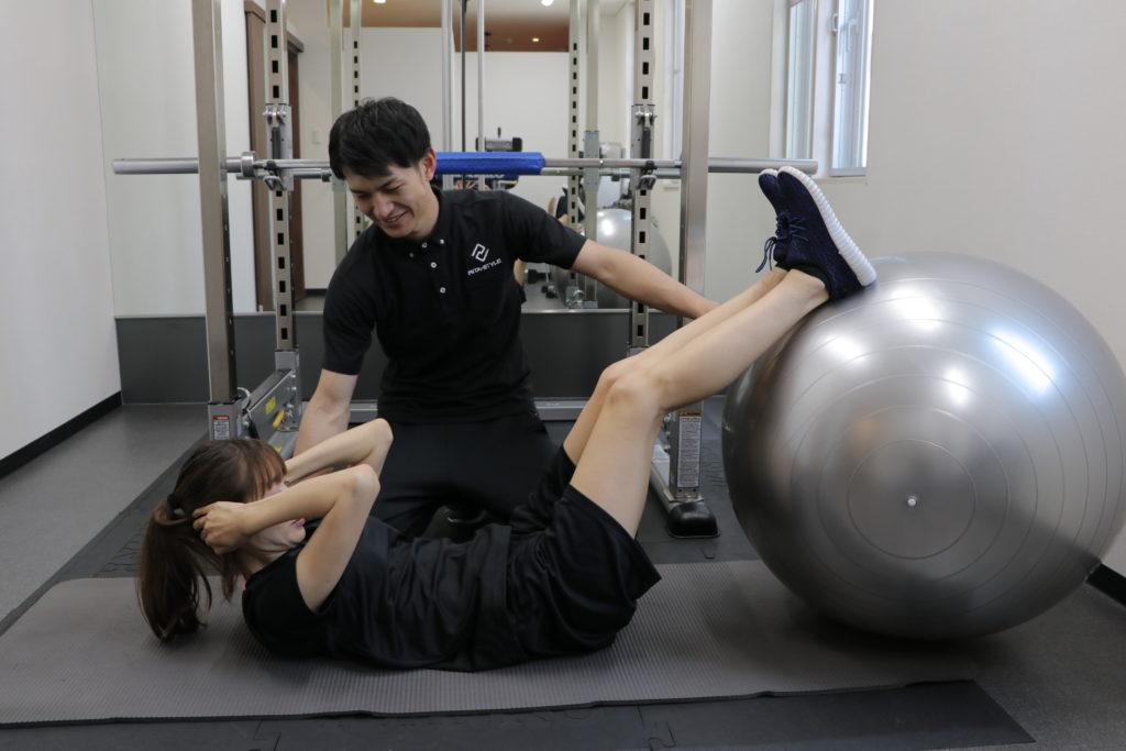 腹筋パーソナルトレーニング