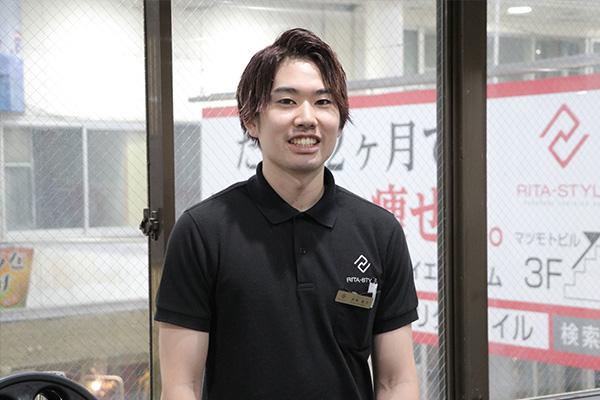 リタスタイル熊本上通店赤塚店長