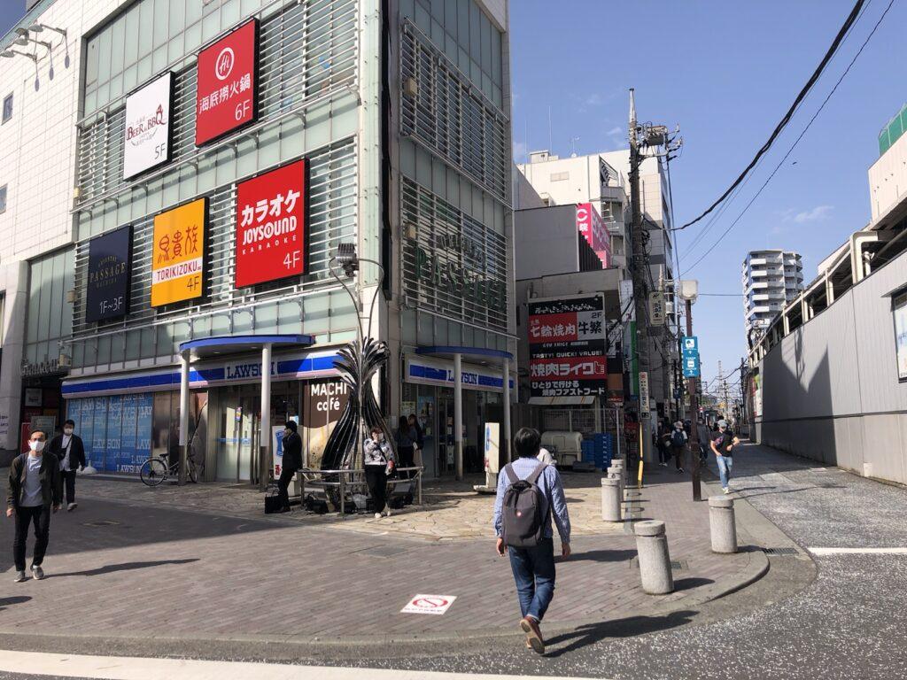 小田急町田駅北口から出たところ